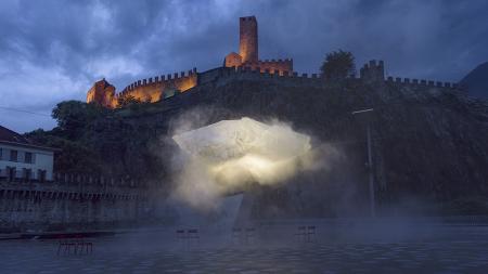 Nuvola Piovasca Piazza del Sole Bellinzona