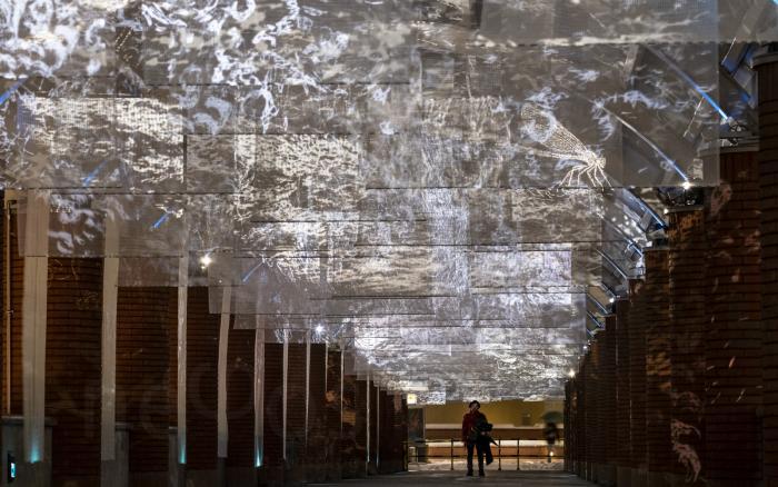 proiezioni luminose analogiche-analogical light projections