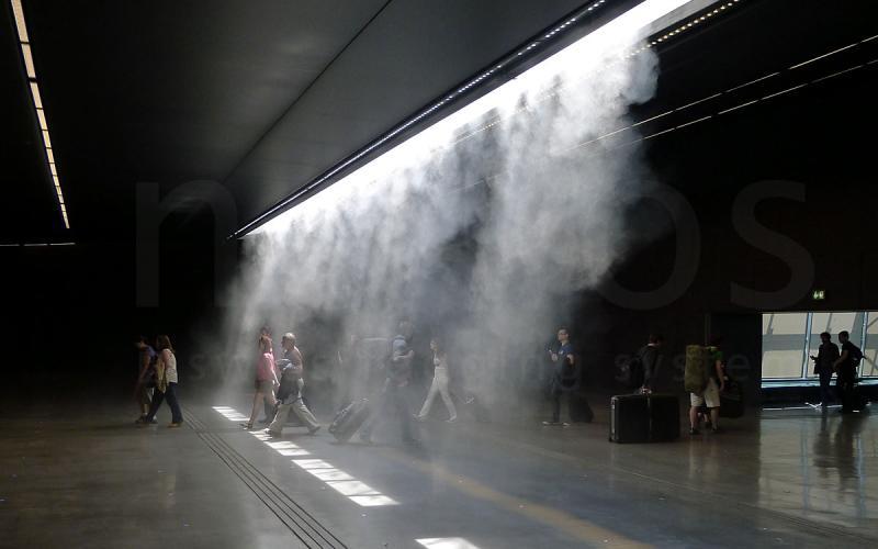La Soglia magica Milano Malpensa airport 2011